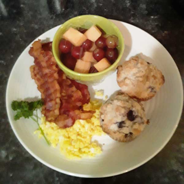 What's for breakfast at The Ranch at Walston Springs